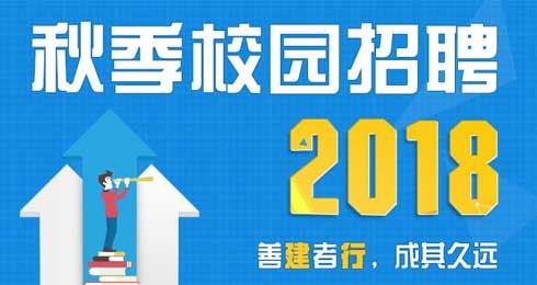 2018年中国建设银行秋季校园招聘